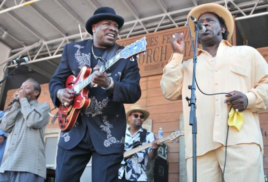 Mud Morganfield a Big Bill Morganfield