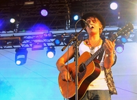 Peter Doherty na festivalu Rock for People Europe