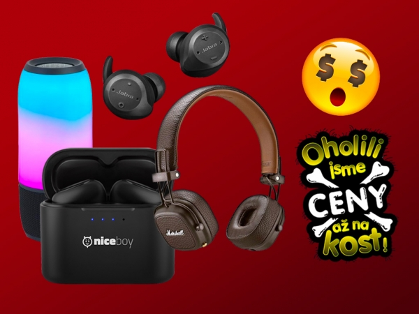 Black Friday je tu! Nakupte audio supervýhodně