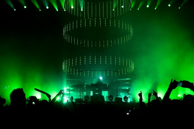 Chemical Brothers, Sziget festival 2011