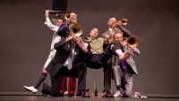 Groteska od Mnozil Brass na Prague Proms