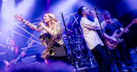 Foto: Candy Dulfer, Lucerna Music Bar, 6. 11. 2017