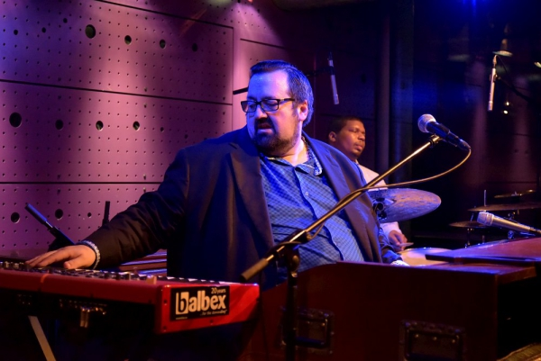 Joey DeFrancesco v klubu Jazz Dock 14. dubna 2017
