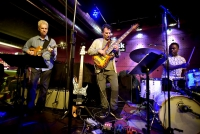 Foto: John Patitucci Electric Guitar Quartet, Jazz Dock, Praha, 15. 5. 2017