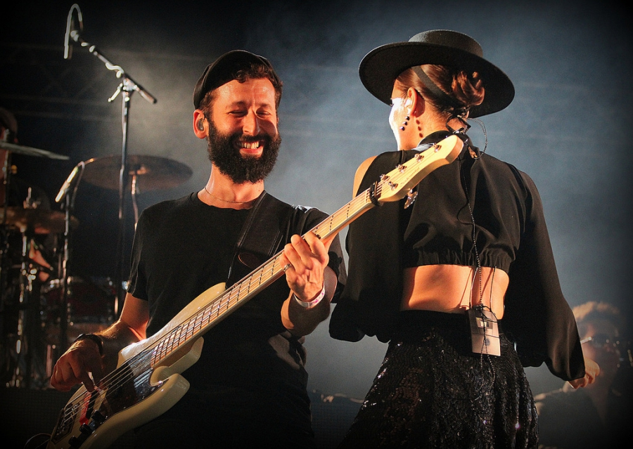 Parov Stelar na plzeňské mutaci Rock for People 2016