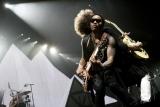 Lenny Kravitz představil Praze novou desku